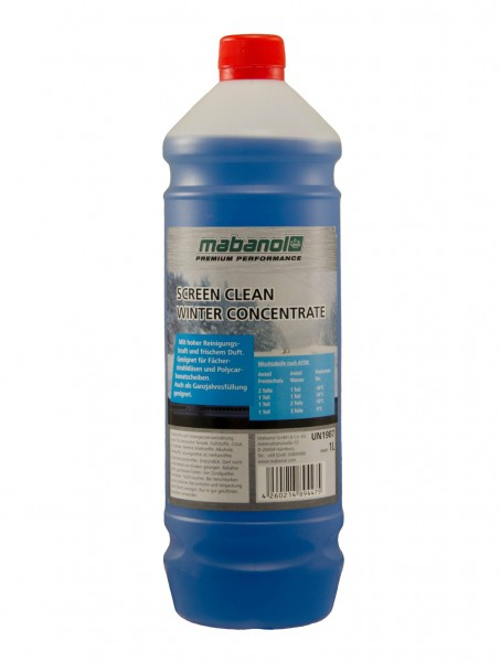 Mabanol Screen Clean Winter 208Liter